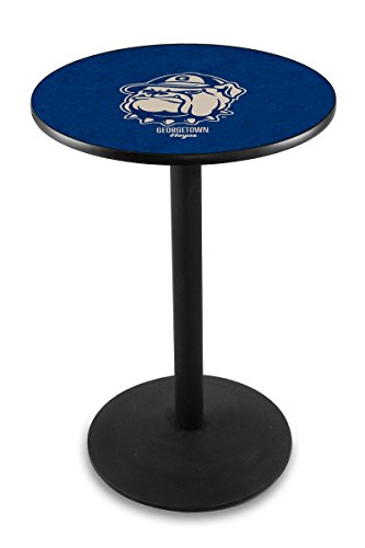 Holland Bar Stool L214B Georgetown University Officially Licensed Pub Table, 28