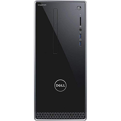 Dell_Inspiron Desktop Computer Tower PC with Intel i7 Processor; 16GB DDR4 Memory; Nvidia GeForce GTX 1050 Graphic Card;128GB SSD+ 1TB Hard Drive, Windows 10 Pro, DVD, Mouse_Keyboard_Included