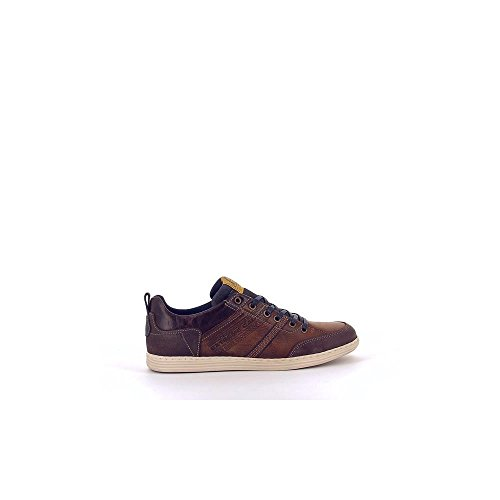 Bullboxer 499-K2-4985A Zapatos de Cordones Hombre Marrón, EU 43