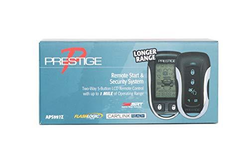 Prestige APS997Z 2-Way 5-Button LCD Remote Control w/ 1 Mile Operating ()