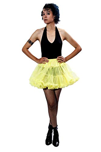 Can Can Dancers Halloween Costumes - BellaSous Luxury Adult Woman Flirt Length
