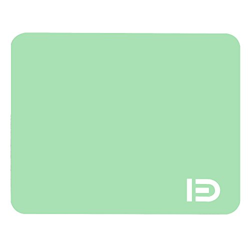 Mouse Pad, FD Mint Green Gaming Computer Mouse Mat with Washable Smooth Cloth Surface and Non-Slip Rubber Base