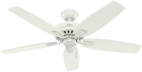 Hunter Fan Company 53322 52 Newsome Ceiling Fan, Fresh White