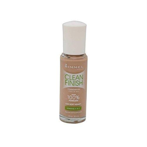 Rimmel Clean Finish Foundation #430 Soft Honey by Rimmel (Rimmel Best Foundation Products)