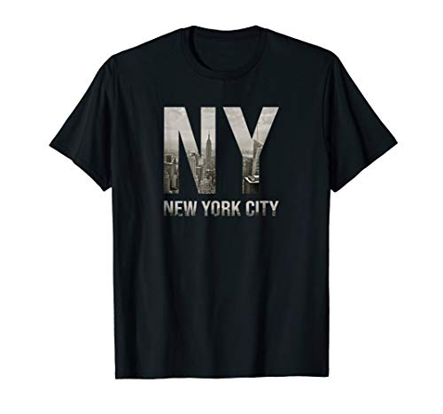 NYC Tshirt Skylines New York City That Never