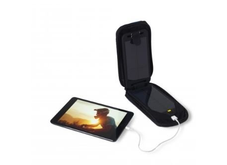 Powertraveller Adventurer Solar Powered Charger with Integrated Battery - Black by Powertraveller (Image #2)
