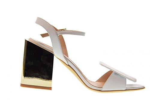 Blanc Blanc Femme Chaussures Sandales AV3104 OVYE FYZ8UZ
