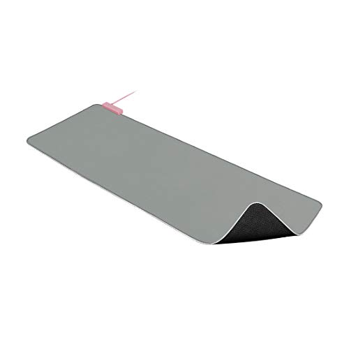 Razer Pink Mouse - Razer Goliathus Extended Chroma Gaming Mousepad: Customizable Chroma RGB Lighting - Soft, Cloth Material - Balanced Control & Speed - Non-Slip Rubber Base - Quartz Pink
