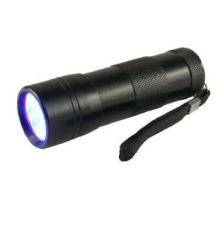 TigerTech 12 LED 375 nm UV Flashlight 3AAA