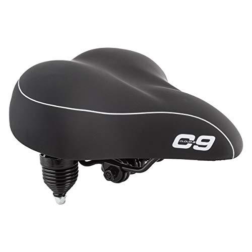 Sunlite Cloud 9 Bicycle Suspension Cruiser Saddle Cruiser Gel Tri Color Black