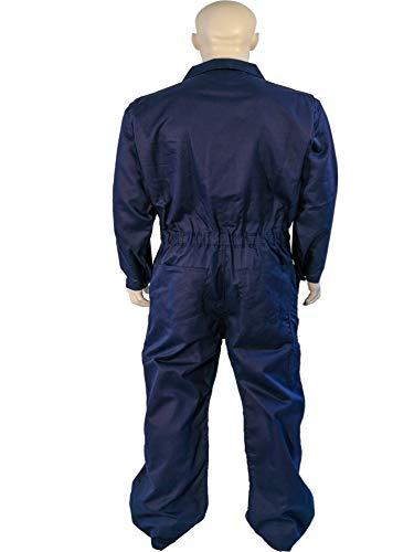 X LARGE FLAME RESISTANT NAVY COVERALLS by Toledano industries (Image #3)