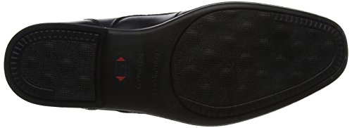 Hush Puppies Cale Slip On, Mocasines Para Hombre Negro (Black)