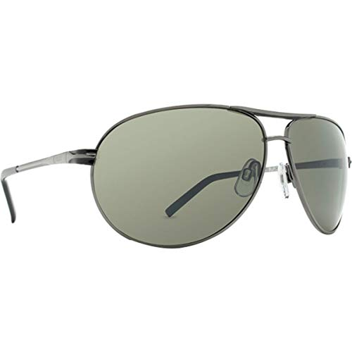 (Dot Dash Buford T Metal Shop Sports Sunglasses - Charcoal/Grey Chrome/One Size Fits All)
