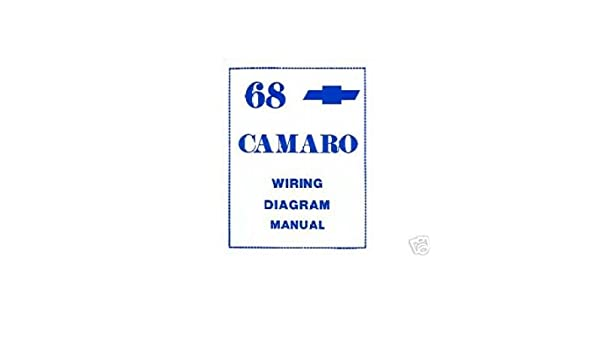 1968 chevrolet camaro electrical wiring diagrams schematics mechanic oem  book, automotive - amazon canada