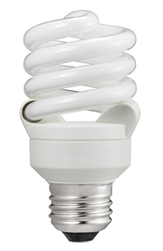 4100 Compact - Philips 414037 60 Watt Equivalent Compact Fluorescent Twister Cool White 4100K CFL Light Bulb, 6-pack