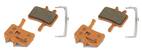 Alligator Organic MTB Bike Disc Brake Pads for Avid Juicy 3 5 7 Carbon/BB7 (2 Pair) Alligator Disc