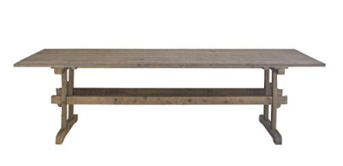 Deco 79 46326 Rustic Wooden Rectangular Dining Table, 32