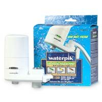 WaterPik  F-7 Electronic Faucet Mount Water Filter - White