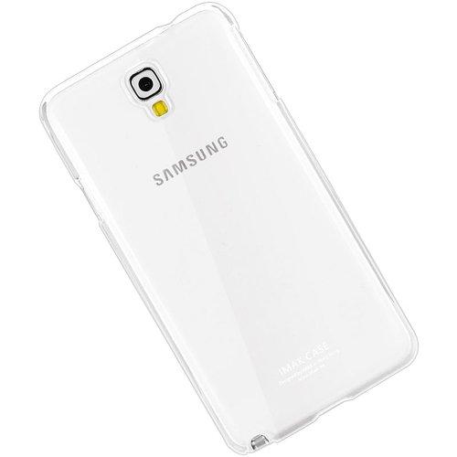 new product cb189 3ddb6 Imak Crystal Transparent Samsung Galaxy Note 3 Neo N7505 Flip Thin Hard  Bumper Back Case Cover