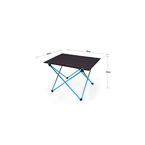 Portable Foldable Folding DIY Table Chair Desk Camping BBQ Hiking Traveling Outdoor Picnic 7075 Aluminium Alloy Ultra-Light M -