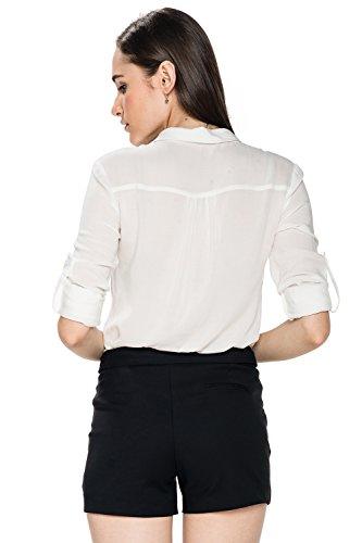 Glo-Story - Short - Femme Noir Noir Taille 34
