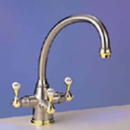 Franke : Triflow Series TFT400 Traditional Faucet - Kitchen Sink ...