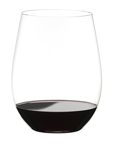 Riedel O Wine Tumbler Cabernet/Merlot, Set of 4 4 Stemless Wine Glasses