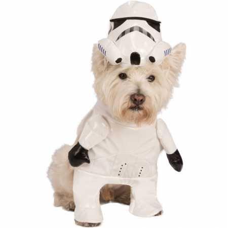Rubie's Star Wars Storm Trooper Dog Costume Small ()