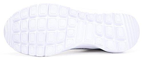 Lieve-koningin Lichtgewicht Mode Sneakers Casual Sportschoenen Voor Dames Grijs