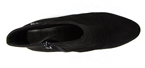 Fog Black Womens Booties Wedged London Ankle Janeway OxqCFBfddn