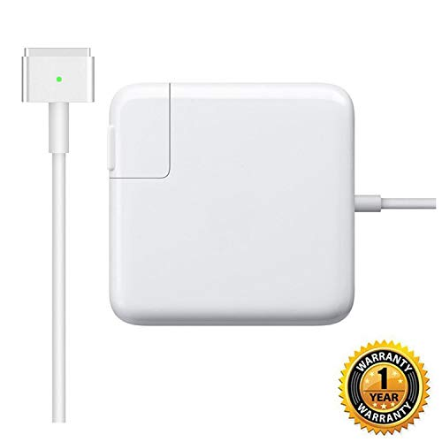 Sehonor Charger Repalcement for MacBook Air 11 inch and 13 inch After Mid 2012 AC 45W Magnetic Magsafe 2 T-tip Shape Connector Power Adapter