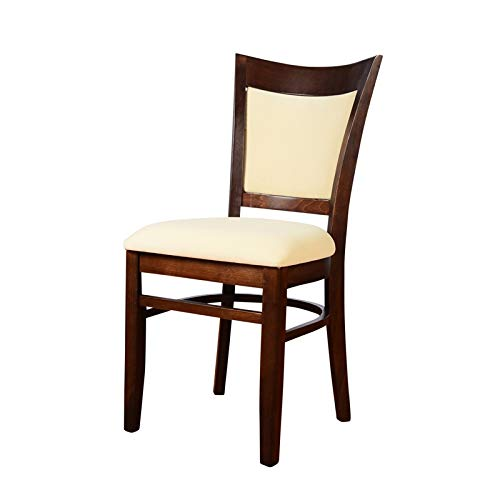 Beechwood Mountain Uph Panel Back Side Chair Walnut Set of 2
