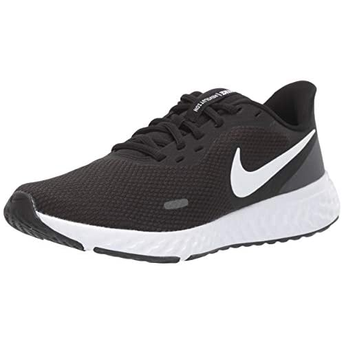 chollos oferta descuentos barato Nike Revolution 5 Running Shoe Womens Black White Anthracite 39 EU