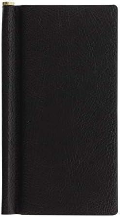 Letts Adressbuch Slim Pocket schwarz