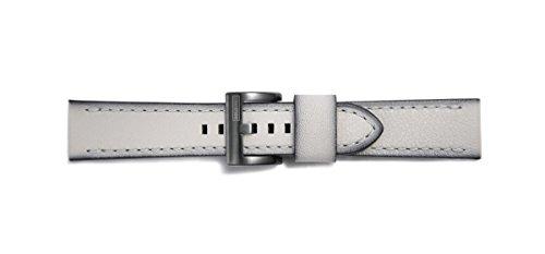 (Original Designed for Samsung Leather Watchband Seta Grey for Gear)