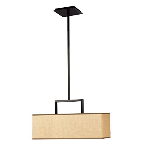 Kenroy Home 93423BRZ Emilio 3-Light Pendant, Bronze Finish ()
