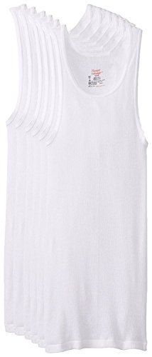 Hanes Men's 6-Pack FreshIQ ComfortSoft Tanks