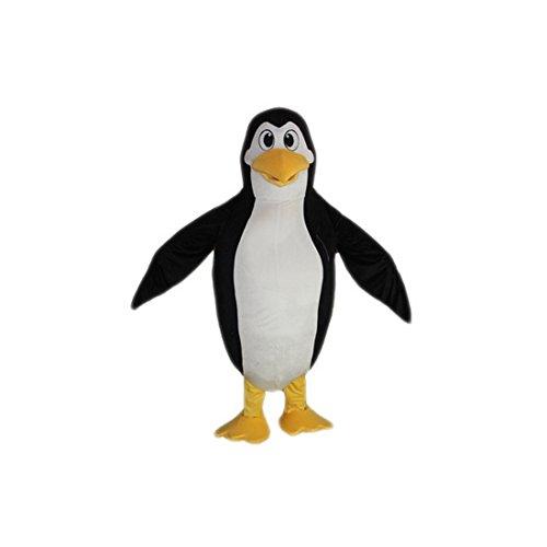Penguin Mascot Costume Character Adult Sz Real Picture Langteng Cartoon(TM) (Penguin Mascot Costume)