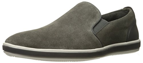 Réaction Kenneth Cole Mens Promenade Le Long Slip-on Loafer Gris