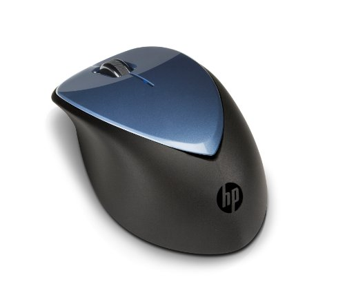 10' Mouse (HP Wireless Mouse X4000 with Laser Sensor (Winter Blue))