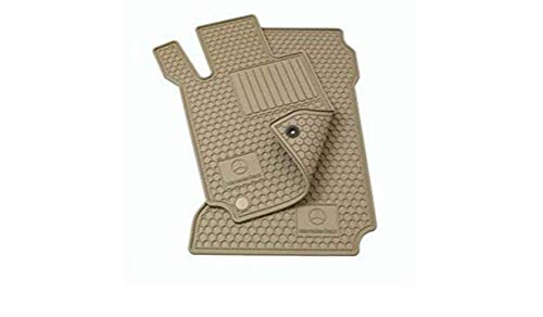Genuine Mercedes-Benz Q6680712 - Rubber Floor Mats W212 E250 E350 E400 E550 SEDAN & WAGON ()