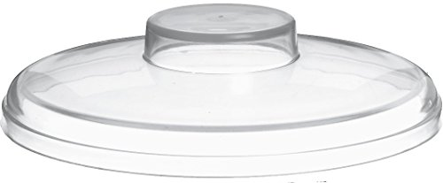 Carlisle CM103207 Coldmaster Coldcrock Acrylic Solid Lid, 6-1/4'', Clear (Case of 2) by Carlisle