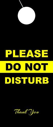 Do Not Disturb Door (Do Not Disturb Door Hanger Sign - 2 Pack)