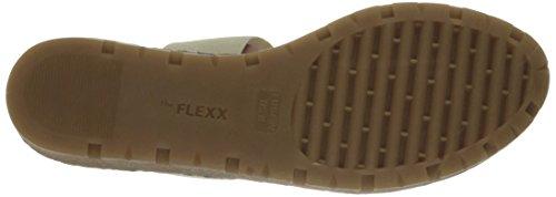 The Flexx Women's Sun Stretch Too Flat Sandal Haze Mix Elastic Multi sSJJm7oiBx