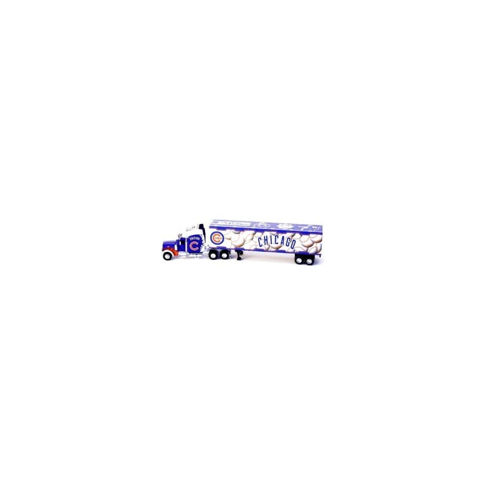 Chicago Cubs Mlb 2005 Semi Diecast Tractor Trailer Truck 1/80 By Fleer Collectibles