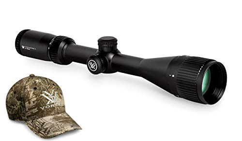 Vortex Optics Crossfire II 6-18x44 AO, SFP Riflescope - Dead-Hold BDC Reticle (MOA) with Baseball Hat