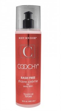 Coochy® Rash Free Shave Creme Tropicle Tease (tropicle tease) (Creme Rash)