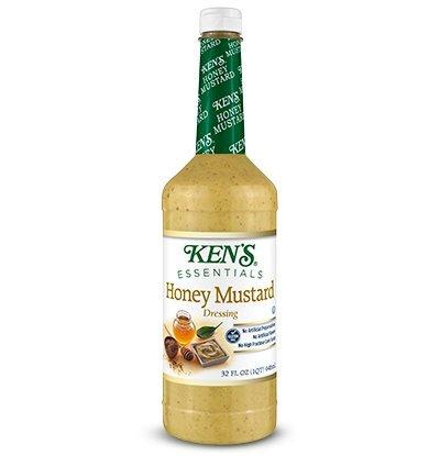 KENS 32 OZ SALAD DRESSING (Honey Mustard) - Italian Mustard