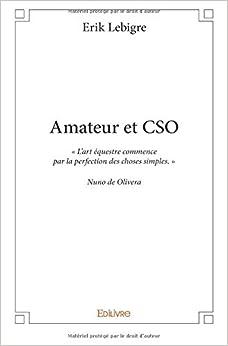 Book Amateur et CSO