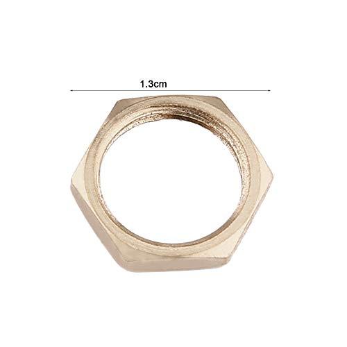 Cerradura tubular de la gaveta del caj/ón para el hogar Art/ículos importantes Cilindro Puerta Buz/ón Herramienta del gabinete con 2 teclas MS102 Plateado